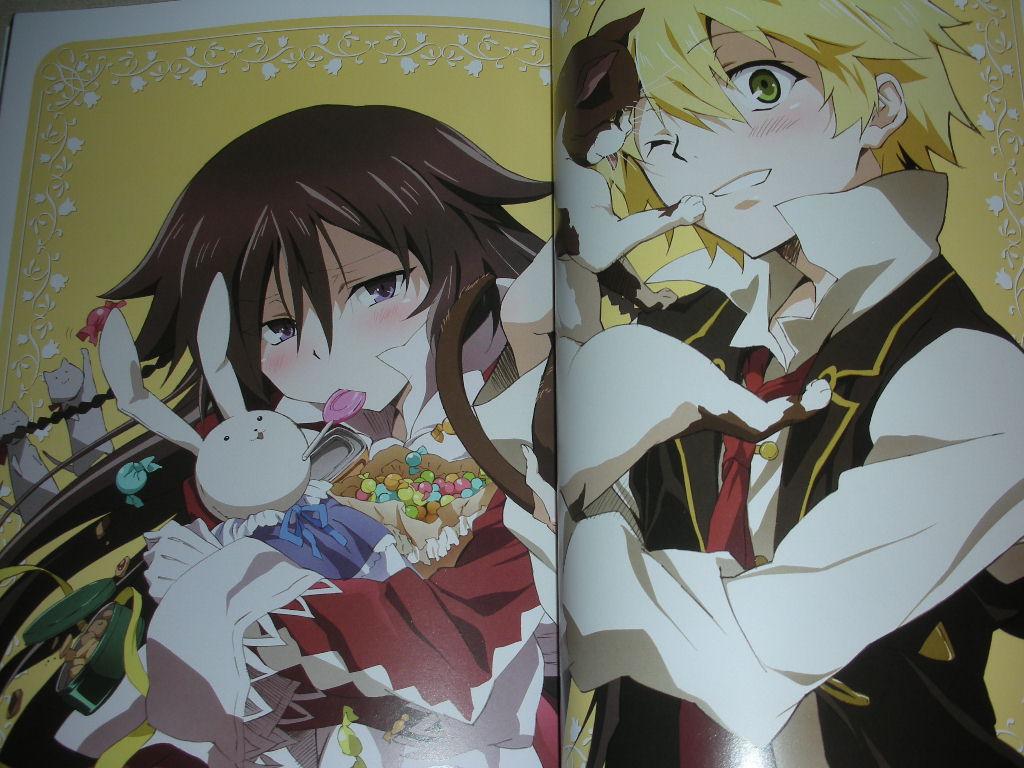 hearts official animation guide art book pandora box anime manga